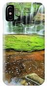 Elakala Falls Portrait IPhone Case