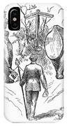 Election Cartoon, 1884 IPhone Case