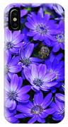 Electric Indigo Garden IPhone Case