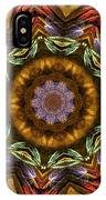 Electric Mandala 2 IPhone Case