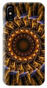 Electric Mandala 3 IPhone Case