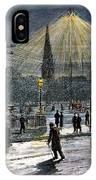Electric Streetlight, 1881 IPhone Case