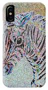 Electric Zebra IPhone Case