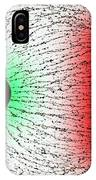 Electrostatic Field Lines Unlike Charges IPhone Case