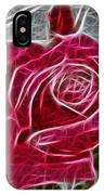 Electrostatic Rose IPhone Case
