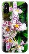 Elegant Beallara Orchid IPhone Case