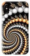 Elegant Swirls IPhone Case