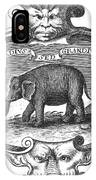 Elephant, 17th Cent IPhone Case