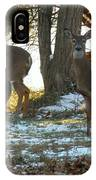 Eleven Deer Standing IPhone Case