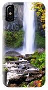 Elowah Falls 2 IPhone Case