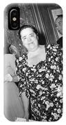 Elsa Maxwell (1883-1963) IPhone Case