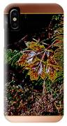Elwha Leaf IPhone Case