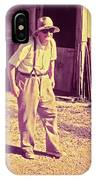 Elwood - Farmer IPhone Case