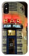 Elwood Bar And Grill Detroit Michigan IPhone Case