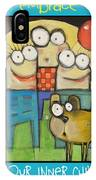 Embrace Your Inner Child Poster IPhone Case