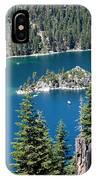 Emerald Bay Vertical IPhone Case
