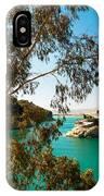 Emerald Lake With Duke House I. El Chorro. Spain IPhone Case