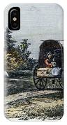 Emigrants To Ohio, 1805 IPhone Case