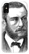 Emil Schumann IPhone Case