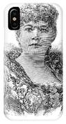 Emma Abbott (1849-1891) IPhone Case