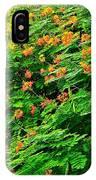 Encore Plus Des Fleurs  IPhone Case