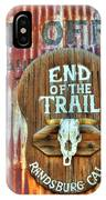 End Of The Trail IPhone Case