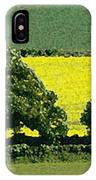 English Field Of Yellow 2 IPhone Case