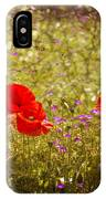 English Summer Meadow. IPhone Case