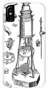 Engraving Of A Culpeper Microscope (1730) IPhone Case