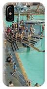 Enjoying The Pool At Jones Beach State IPhone Case