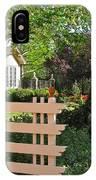 Entrance To A Victorian Garden IPhone Case