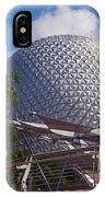 Epcot Dome IPhone Case