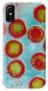 Epstein-barr Virus Particles IPhone Case