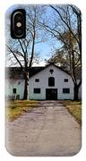 Erdenheim Farm Equestrian Stable IPhone Case