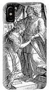 Esther & Ahasuerus IPhone Case