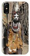 Ethiopia-south Tribesman No.2 Detail A IPhone Case