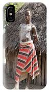 Ethiopia-south Tribesman Teenager No.1 IPhone Case