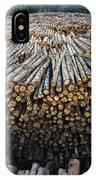 Eucalyptus Stacked Lumber IPhone Case