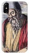 Euclid, Ancient Greek Mathematician IPhone Case