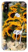 European Markets - Sunflowers And Roses IPhone Case