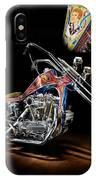 Evel Knievel Harley-davidson Chopper IPhone Case