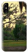 Evening In The Mossy Oaks IPhone Case
