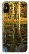 Evening Light On A Missouri Pond I IPhone Case