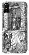 Execution Of Heretics IPhone Case
