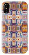 Fabric Art IPhone Case