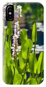 Fabulous Water Hyacinth  IPhone Case
