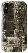 Faces Of Banyon Angkor Wat Cambodia IPhone Case