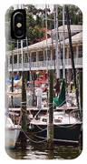 Fairhope Yacht Club Sailboat Masts IPhone Case