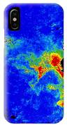 Fal-col Satellite Image Of Coastal IPhone Case