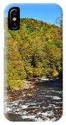 Fall Along Elk River IPhone Case
